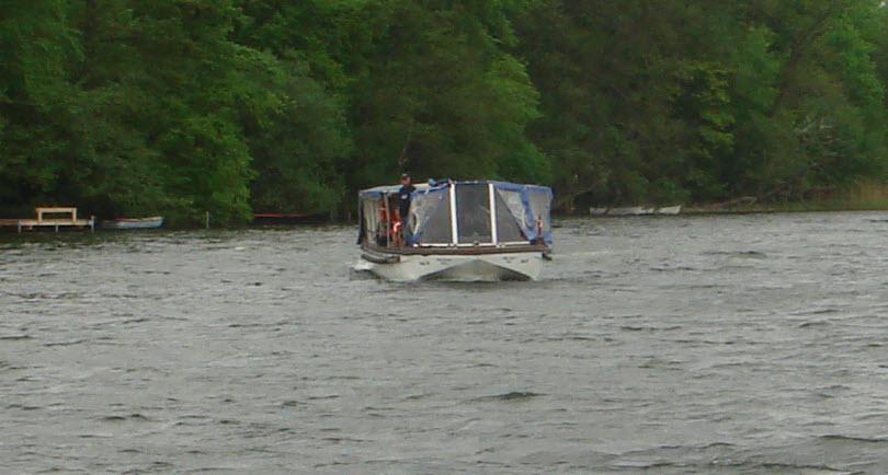 Bådfart på Sorø Sø
