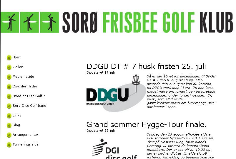 Sorø Frisbee Golf Klub