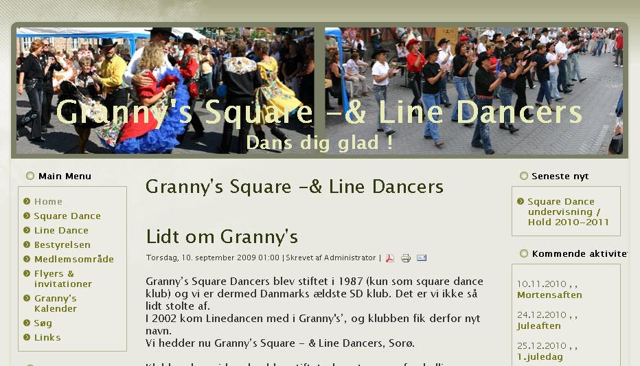 Granny's Square-& Line Dancers