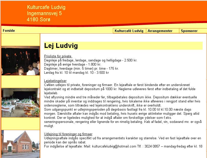 Kulturcafe Ludvig – aktuel kultur i gammel arkitektur