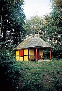 Skovturs-pavillon ved Sorø Sø