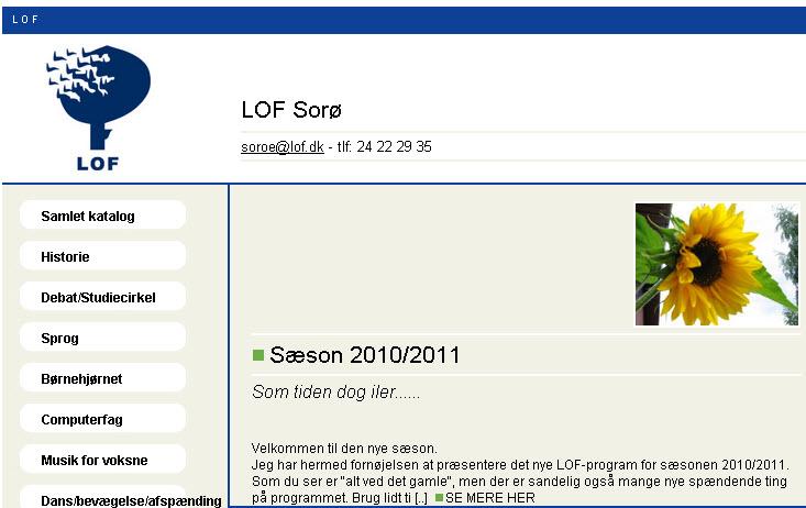 Nyt program hos LOF