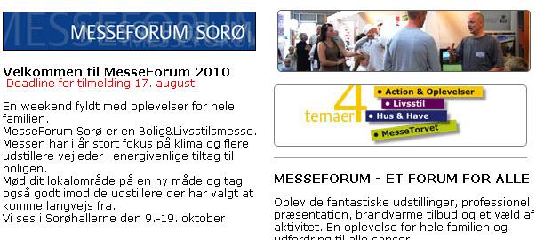 MesseForum Sorø