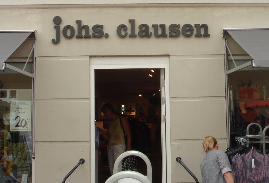 Lingeri hos Johs. Clausen