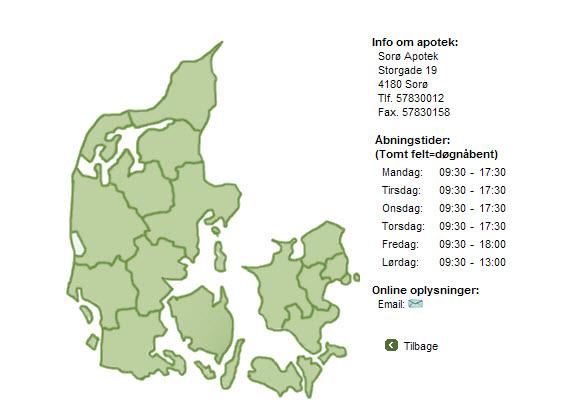 Økologi på Sorø Apotek