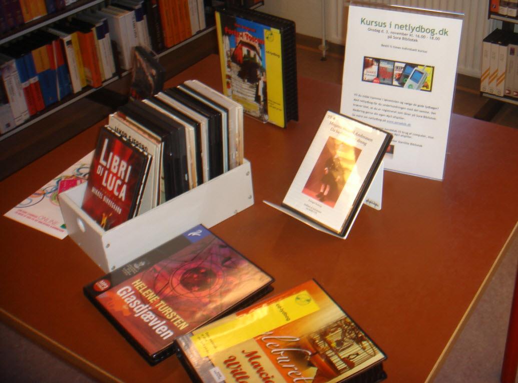 Download lydbøger på biblioteket