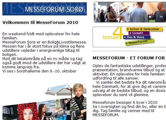 Sorø Messen 2010 manglede det bløde