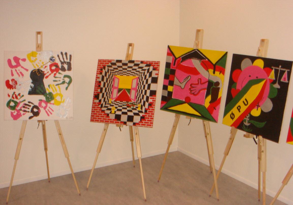 Malerier på Rådhuset