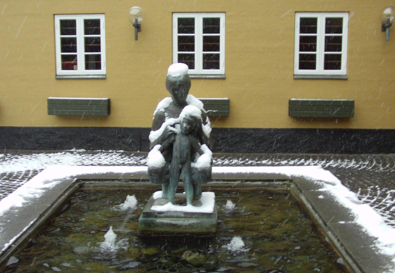 Sne i Sorø