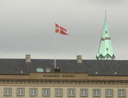 Sorø Akademi flager