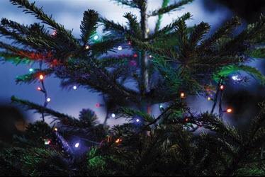 Fyrværkeri og julelys i XL Byg