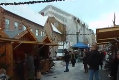 Julemarked 2010 i Sorø (video)