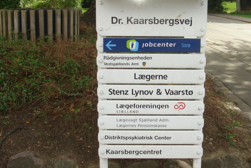 Vejen til Kaarsbergcentret