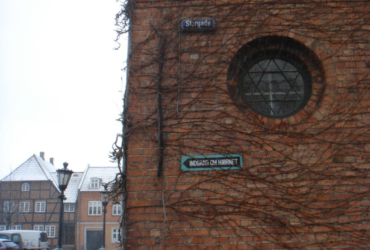 Det gamle rådhus på Torvet i Sorø