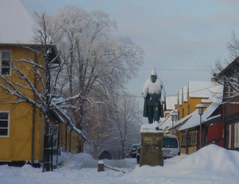 Søgade starter bag Frederik VII på Torvet