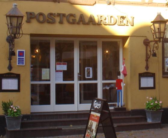 Postgaarden set fra Storgade