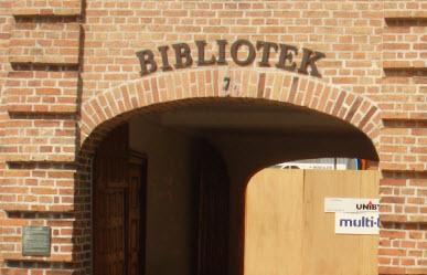 Sorø Bibliotek fra Storgade