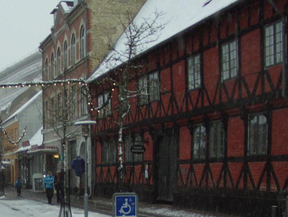 Sorø Museum ved vintertid