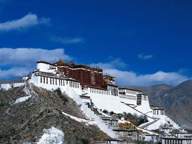 Tibetanere stresser ikke