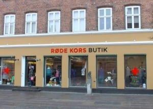 Røde Kors' butik i Sorø