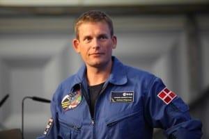 ESA-Astronaut Andreas Morgensen
