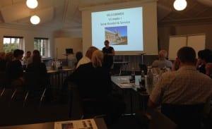 Foreningen har Pia Juul Larsen fra Sejers Konditori som formand