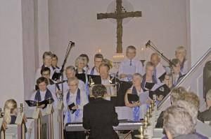 Billedet er fra sidste års julekoncert i Bjernede Kirke.