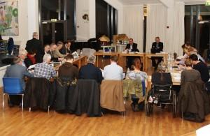 Byrådsmøde på Borgerskolen