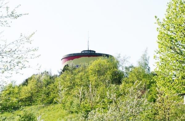Nyd udsigten fra vandtårnet