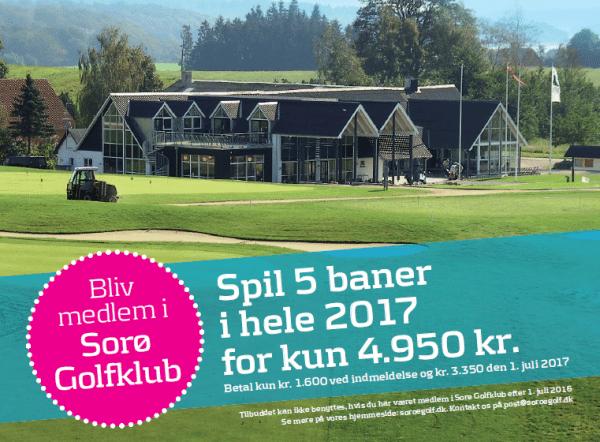Bliv medlem i Sorø Golfklub