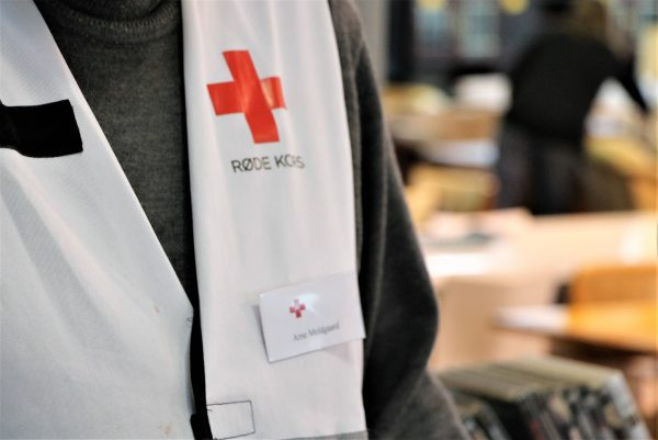 Nedsatte priser i Røde Kors Møbelbutik