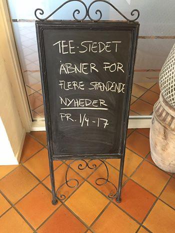 Nyheder fra Tee-Stedet