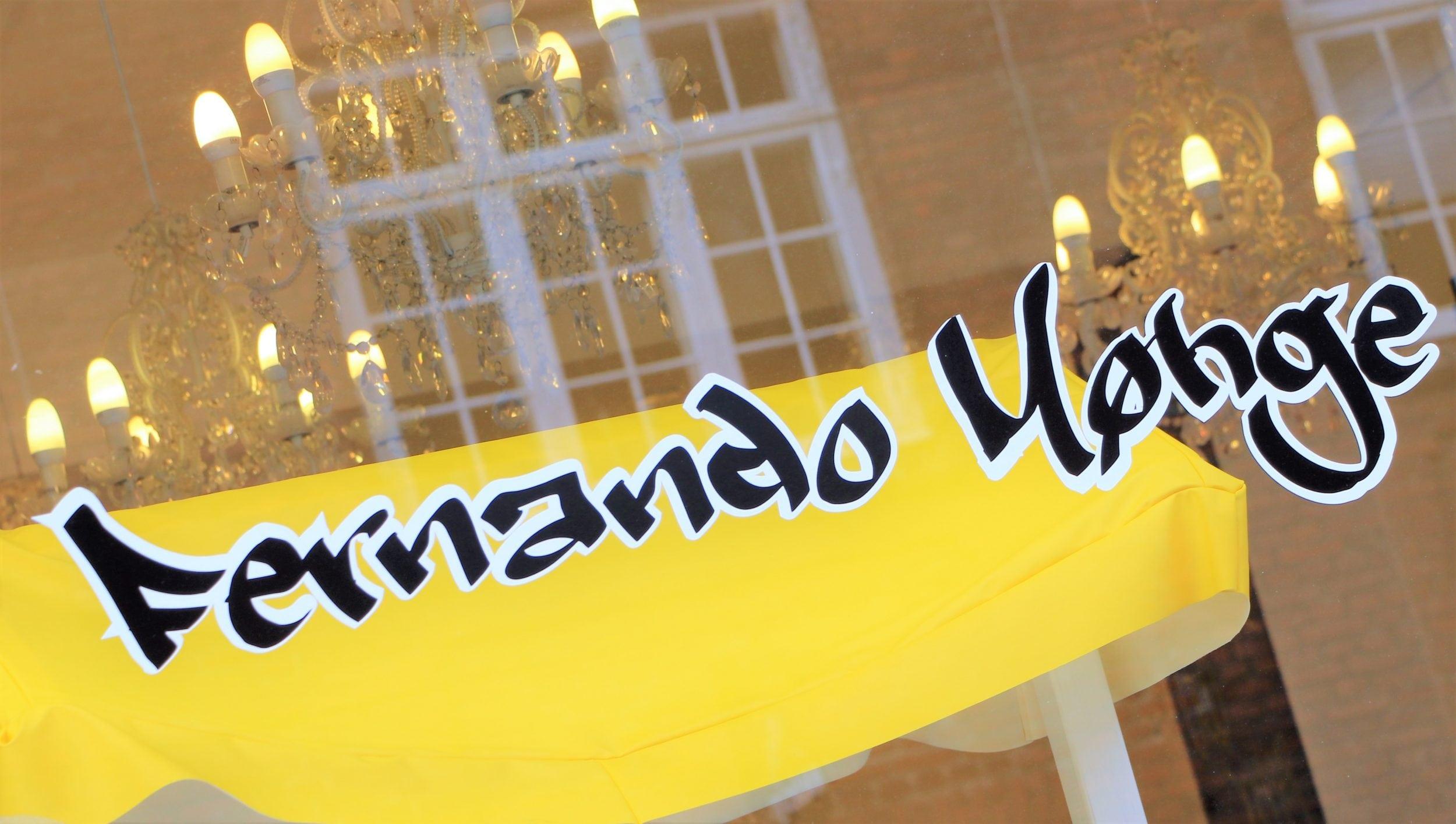 Salon Fernando Møhge åbner igen