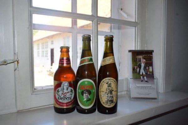 Holbergøl og Jeppe-brændevin