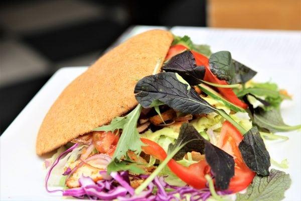 Lækre sandwich hos Krabasken