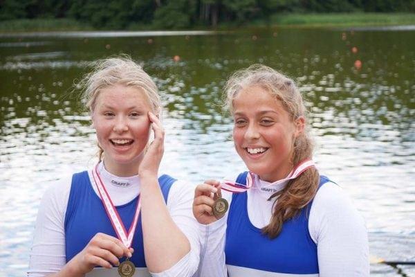 Medaljer ved DM 2017 til Sorø-roerne