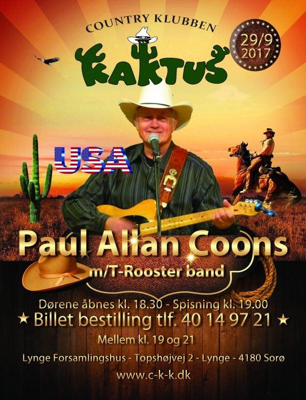 Koncert: Paul Allan Coons