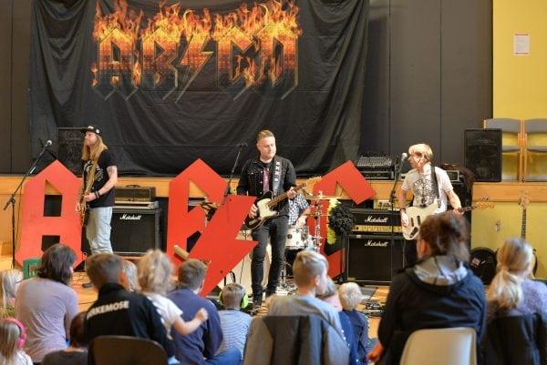 Festlig rockhistorisk time