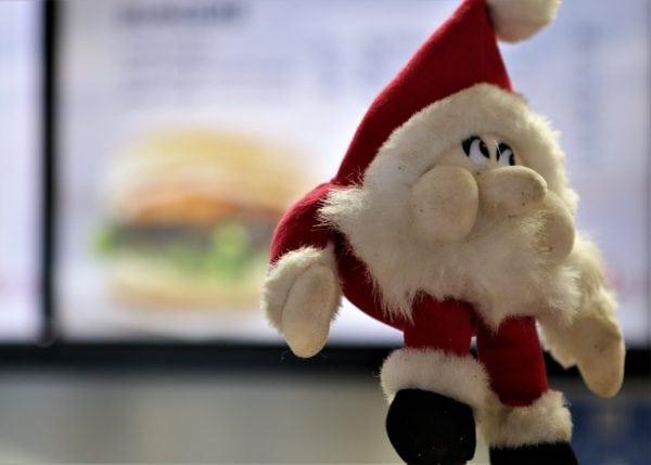 Juleburger hos Torvets Bistro