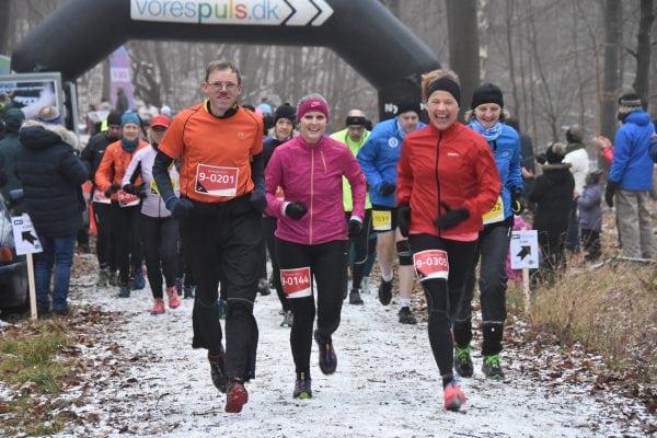 Vinterløb i Bromme Plantage