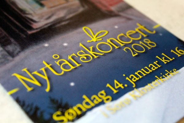 Smuk nytårskoncert i Klosterkirken