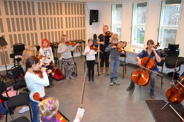 """""""OrkesterMestre"""" i Sorø"""