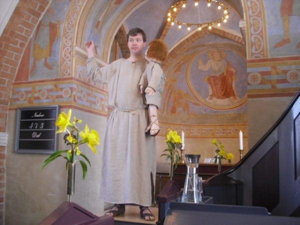 Påskefortælling i Slaglille Kirke