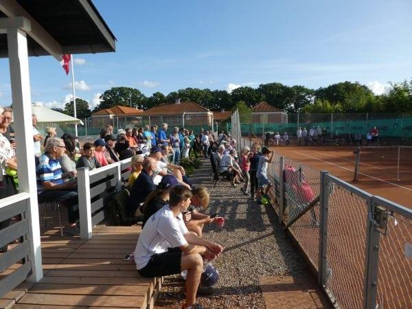 Standerhejsning i Sorø Tennisforening