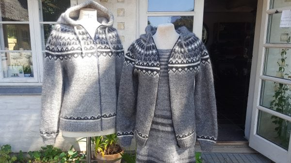 Nyt design i lækker uldsweater