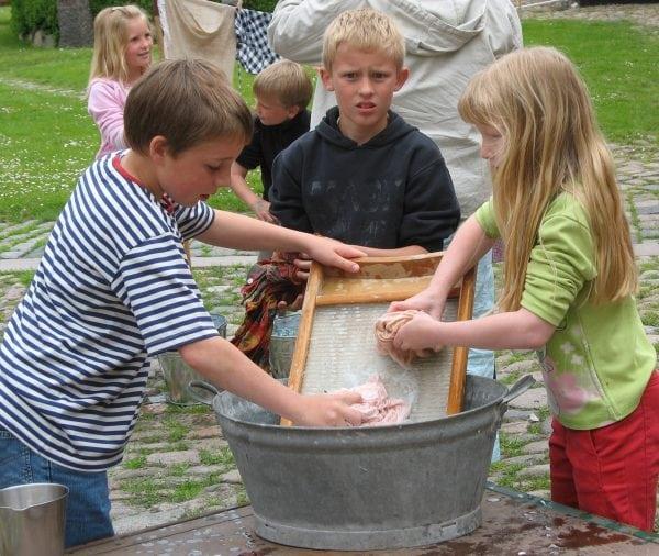 Johannes vasketøj på Sorø Museum