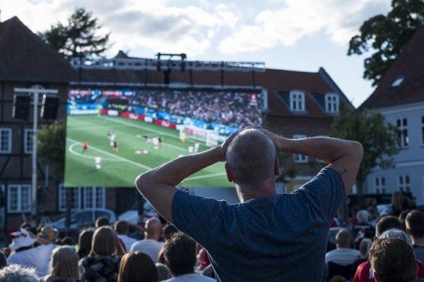 Fodboldfest påTorvet