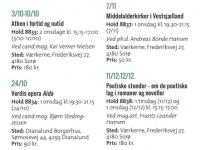 Folkeuniversitetets kurser i Sorø