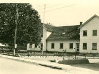 Dianalund Rådhuis på Dr. Sells Vej 20B ca. 1956. Foto: Jørgen Mogensen