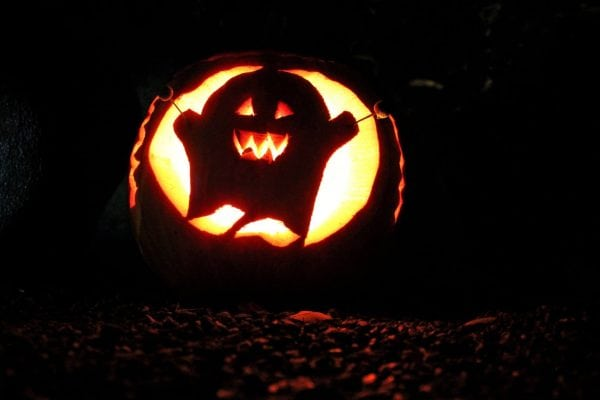 Halloween i efterårsferien
